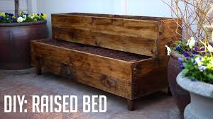bed frame vintage woodworking projects building diy raised bed
