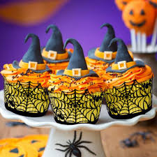 aliexpress com buy ourwarm 48pcs halloween party cupcake