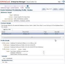 Profile Summary For Oracle Dba Em 12c Snap Clone Dba Kevlar