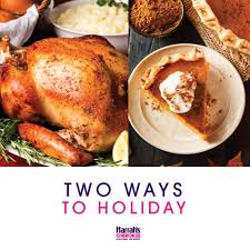 feast upon two delicious thanksgiving harrah s casino