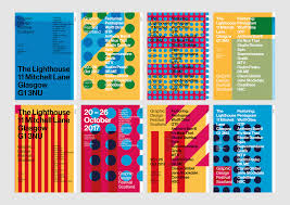 graphic design festival scotland identity design festival and