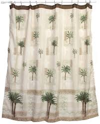 palm tropical shower curtain u2013 home design and decor