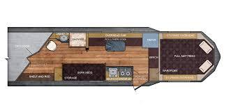 horse trailer living quarter floor plans 7 ft wide 15 20 living quarters floor plan trails west trailers