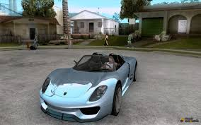 Porsche 918 Gta 5 - 918 spyder for gta san andreas