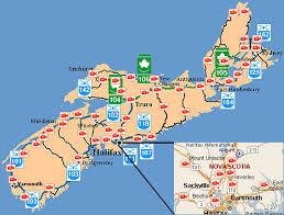 map east coast canada highways cameras novascotia ca