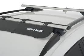 nissan pathfinder roof rack rhino rack wind fairing autoaccessoriesgarage com