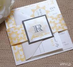 cheap halloween invitations striking cheap yellow and gray wedding invitations halloween ideas