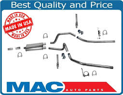 Dodge Dakota Truck Parts And Accessories - 04 08 dodge dakota dynomax muffler with ap dual exhaust pipes