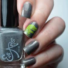 polished lifting t rex nail art featuring harunouta u0026 ever after