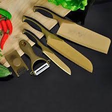 titanium kitchen knives titanium kitchen knife ebay