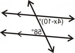 Alternate Interior by Because These Are Alternate Interior Angles They Must Be Equal