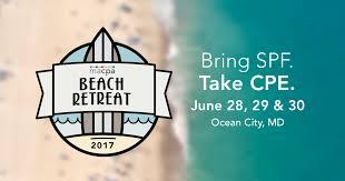 beach retreat 2017 maryland association of cpas macpa