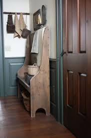 furniture foyer bench on pinterest with brown wooden door design