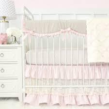 blake u0027s vintage pink linen lace baby bedding swatch kit caden lane