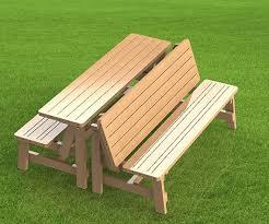 folding picnic table bench plans pdf folding bench and picnic table combo pdf woodworking plan quick