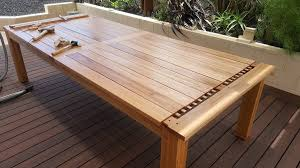 bulletproof exposed outdoor dining table but weatherproof by