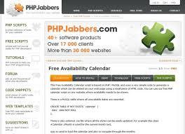 free availability calendar for calendar free php calendar embed