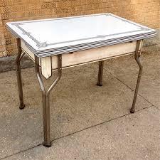 vintage enamel kitchen table vintage enamel kitchen table cityfoundry