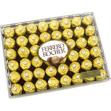 ferrero rocher fine hazelnut chocolates 48 count walmart com