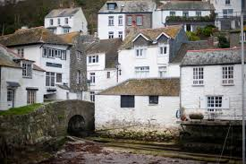 painted houses free stock photo of polperro houses photoeverywhere