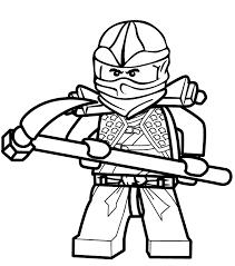 coloriage et dessin de ninjago à imprimer