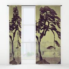 Old Curtains Library Window Curtains Society6