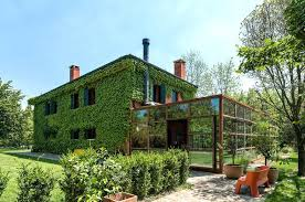 style home designs country home designs country house covered with living vines