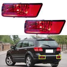 dodge journey tail light 2018 car vehicle refit red lens rear bumper l lighting diy case