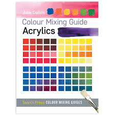 color mixing chart acrylic paint cryla acrylic colour chart at
