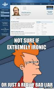 Internet Dating Meme - try online dating it will be fun they said they were actually right