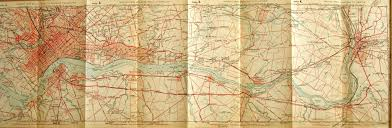 Detailed Map Of Michigan Early Road Maps Of Pennsylvania
