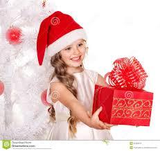 kid giving christmas gift box stock photography image 22250572
