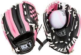 u0027s sporting goods backyard t ball glove u0026 ball u0027s