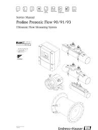 prosonic flow 90 91 93 service manual march 2008 reynolds