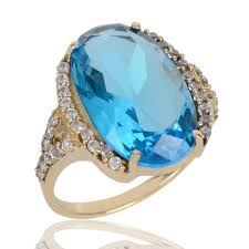 stone rings images Rings unique design sky blue stone finger ring for women at best jpg