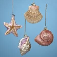 blue dot stingray sea glass ornament poland