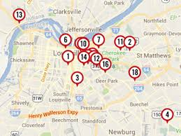 Louisville Map Food Network Star U0027 Winner Damaris Phillips U0027s Favorite Louisville