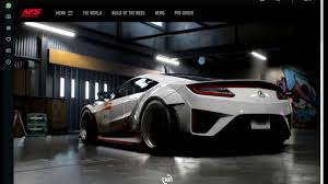 build a new car need for speed payback new car build of the week 11 2017 nsx