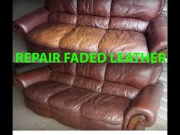 Leather Sofa Discoloration How To Repair Restore Faded Leather Quickly Easily It Looks