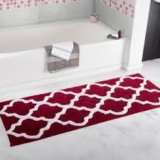 Burgundy Bathroom Rugs Burgundy Bath Rugs Wayfair