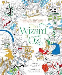 the wizard of oz coloring book fabiana attanasio 9781454920939