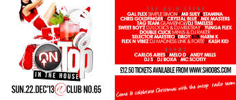 ra ontop fm xmas party at club no 65 london 2013