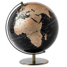 small desk globes globe collection 13 cm globe black amazon co uk kitchen u0026 home