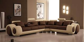 Brown Leather Sectional Sofa by Amazon Com 4087 Bonded Leather Sectional Sofa With Recliners