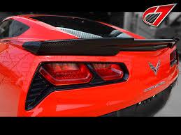 carbon fiber corvette parts c7 corvette stingray gtx rear spoiler carbon fiber c7 ccc7 gtx