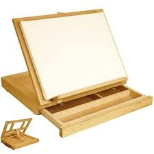 Inexpensive Drafting Table This Solidly Made Table Top Drawing Table Works As A Portable