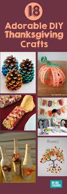 18 adorable diy thanksgiving crafts thanksgiving glue guns and craft