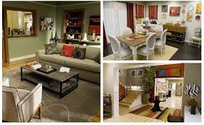 modern family living room get the look the homes of modern family