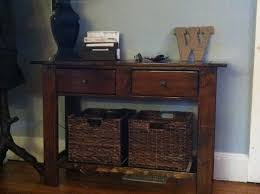 diy rustic x console plans by ana white handmade with ashley table