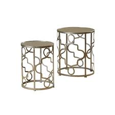 Metal Accent Table Round Metal Accent Table Facil Furniture